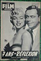 Revue Film Complet N° 566 - 7 Ans De Réflexion - Marilyn Monroe - Mai 1956 - Très Bon état - Cine