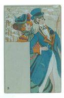 Raphael TUCK - Couple....(Publicité Au Dos : A La Samaritaine - NANCY) - Tuck, Raphael