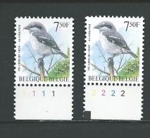 Zegel 2775 ** Postfris Met Plaatnummers 1-2 - 1991-2000