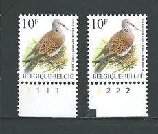 Zegel 2783 ** Postfris Met Plaatnummers 1-2 - 1991-2000