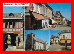 2 CPSM/gf (19) NEUVIC.  Multivues / La Plage...L416 - Other Municipalities