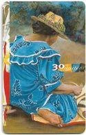 French Polynesia - OPT - Les Mamas #1, Gem1A Symmetr. Black, 03.1998, 30Units, 20.000ex, Used - Polinesia Francese