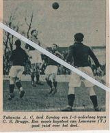 VOETBALSPORT..1937.. TUBANTIA A.C. - C.S. BRUGGE / LEMMENS - Non Classés