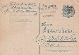 """SBZ / 1948 / Postkarte Stempel Stralsund """"Vergiss Nicht Strasse Und Hausnummer Anzugeben"""" (DA25) - Soviet Zone"""