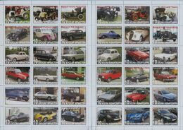 Fantazy Labels / Private Issue. The History Of Road Transport. Cars RENAULT.  2016. - Fantasie Vignetten