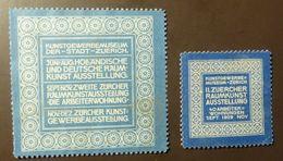 Werbemarke Cinderella Poster Stamp  Raumkunst Zürich  #Werbe19 - Cinderellas