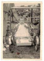OCCITANIE VIEILLE VERITABLE PHOTO PHOTOGRAPHIE CRAMPEL PHOTOS MANDEL TOULOUSE DENTELEE MARTINE DANS POUSSETTE D'ENFANT - Anonyme Personen