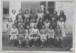 45   PHOTO ECOLE   1943  LA CHAPELLE  SAINT  MESMIN   18  X  13 - Other Municipalities