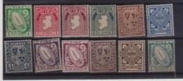 1922 IRLANDA Soggetti Diversi Serie Completa Leggera Linguella - Ohne Zuordnung