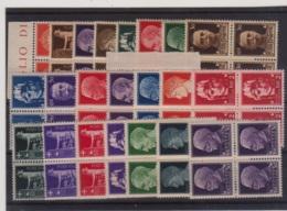 1929 (MNH=**) IMPERIALE Blocchi Quattro Serie Completa Nuova Gomma Originale Ed Integra - 1900-44 Victor Emmanuel III