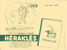 """CAHIERS & COPIES - HERAKLES -  ROME L'élève """"CICERO"""" Utilisait Les TABLETTES DE CIRE Pour .................. - Papierwaren"""