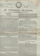 Journal Le Courrier Français N°242du Samedi 30 Août 1823 - Zeitungen