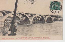 CPA Toulouse - Pont Des Amidonniers Sur La Garonne - Vue D'ensemble Pendant La Construction Des Tympans (mai 1907) - Toulouse