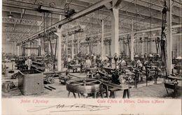 CHALONS-sur-MARNE (51) ECOLE D'ARTS Et METIERS. ATELIER D'AJUSTAGE. 1904. - Châlons-sur-Marne