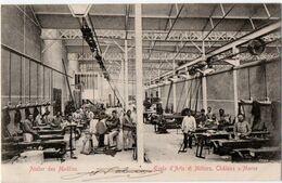 CHALONS-sur-MARNE (51) ECOLE D'ARTS Et METIERS. ATELIER Des MODELES. 1904. - Châlons-sur-Marne