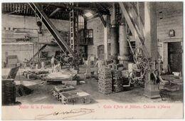 CHALONS-sur-MARNE (51) ECOLE D'ARTS Et METIERS. ATELIER De La FONDERIE. 1904. - Châlons-sur-Marne