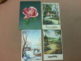 Illustrateur Diakoff X 4 Fleur Et Paysage - Illustratori & Fotografie