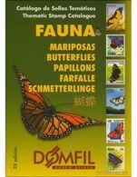 Catalogue De Timbres Poste Domfil Farfalle Butterflies Papillons Stamps PDF 161 Pg LIVRAISON GRATUITE FREE SHIPPING - Thema's