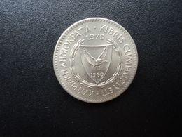 CHYPRE * : 100 MILS   1979      KM 42     SUP+ - Cipro