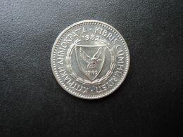 CHYPRE * : 100 MILS   1982     KM 42     NON CIRCULÉE - Cipro