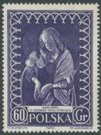1956 POLONIA SETTIMANA DEI MUSEI OPERE 60 G MNH ** - CZ5-10 - Ungebraucht