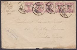 CHINA 1933 / OVERPRINT ISSUES FOR USE IN SZECHUAN / GREAT COVER TO USA - 1912-1949 Republic