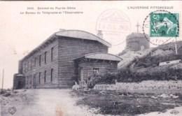 63 -  Sommet Du PUY DE DOME -  Le Bureau Du Telegraphe Et L Observatoire - Unclassified