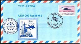 35762 - CONCORDE - Postal Stamped Stationery
