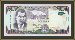 Jamaica 100 Dollars 2017 P-95 (95d) UNC - Giamaica