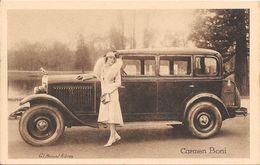 Collection Peugeot La 12 Six Et Les Célébrités Contemporaines Ici Carmen Boni (actrice Italienne) - Entertainers