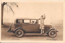 Collection Peugeot La 12 Six Et Les Célébrités Contemporaines Ici Marie Glory ( Actrice Française ) - Entertainers