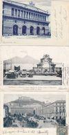 NAPOLI- 3 CARTOLINE VIAGGIATE TRA IL 1902-1905 - Napoli