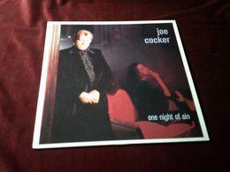 JOE  COCKER  ° ONE NIGHT OF SIN - Vinyl-Schallplatten