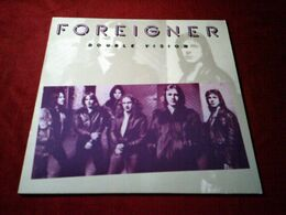 FOREIGNER  ° DOUBLE VISION - Vinyl Records