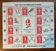 16ème Jeux Olympiques D'hiver Albertville 1992 - Ongebruikt