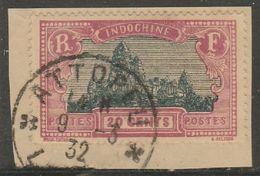 INDOCHINE - LAOS - Oblitération ATTOPEU Sur Fragment - Indocina (1889-1945)