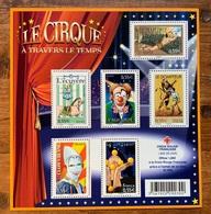 Le Cirque à Travers Le Temps 2008 Neuf - Blocs & Feuillets