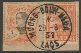 INDOCHINE - LAOS - Oblitération MUONG BOU NEUA Sur Fragment - Indocina (1889-1945)