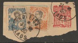 INDOCHINE - LAOS - Oblitération HOUEISAI Sur Fragment - Indocina (1889-1945)
