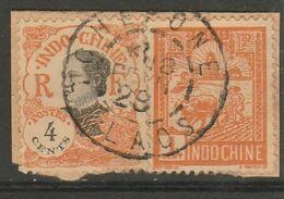 INDOCHINE - LAOS - Oblitération TCHEPONE Sur Fragment - Indocina (1889-1945)