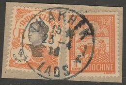 INDOCHINE - LAOS - Oblitération THAKHEK Sur Fragment - Indocina (1889-1945)