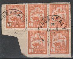 INDOCHINE - LAOS - Oblitération PHONGSALY Sur Fragment - Indocina (1889-1945)