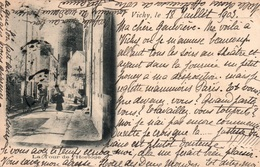Vichy - La Tour De L'Horloge (sans Les Créneaux) Avant Restauration? - Carte T.B. Dos Simple De 1903 - Vichy