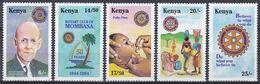 Kenia Kenya 1994 Organisationen Wohlfahrt Welfare Rotary Persönlichkeiten Harris Medizin Medicine Mombasa, Mi. 607-1 ** - Kenia (1963-...)