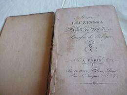 Marie Leczinska 1815-ex Libris Et Calendrier Portatif Enfin De Livre.sous Etui Dans L'etat - 1701-1800