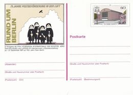 Berlin 1987, Postcard Unused, Internationale Luftpostausstellung Zur 750 Jahr Feier Berlin - Postkarten - Ungebraucht