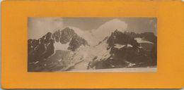 VUE PRISE DU GLACIER D ARGENTIERE , LE GLACIER DU CHARDONNET ET LE COL .... 1910 - Places