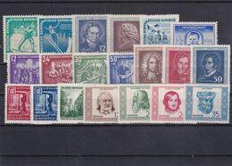 DDR, Lot Von Marken Aus 1952**, Mi. 79,- Euro (T 18042) - Nuovi