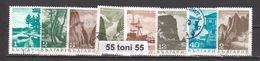 1968  Series Courants LANDSCAPES Mi 1802/09   8v.-used/oblitere(O) Bulgaria / Bulgarie - Usados