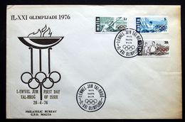 Malta  1976     Minr.529-31  FDC ( Lot 544 ) - Malta
